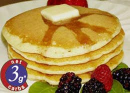 Low Carb Carbquik Pancakes Recipe