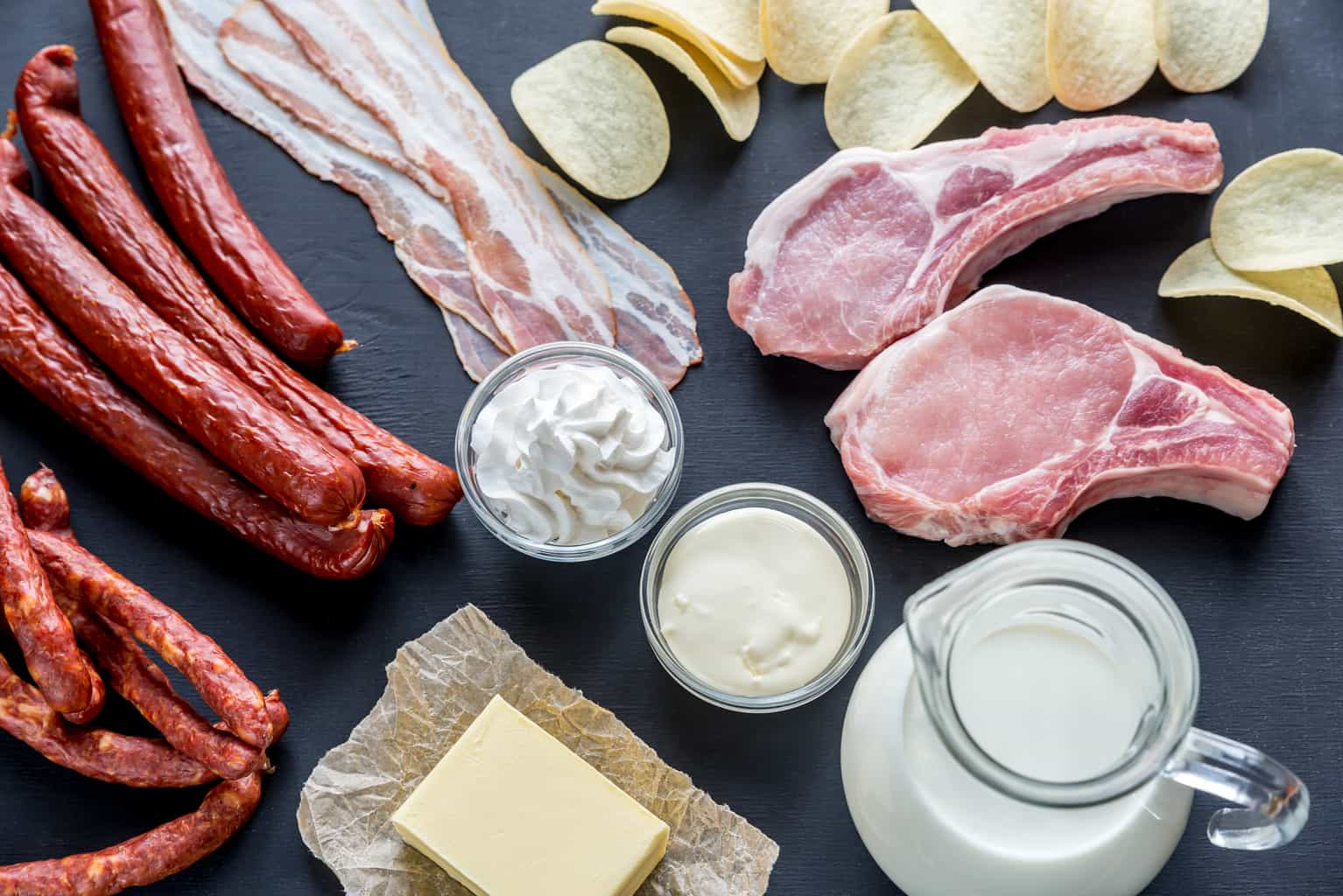 Keto High Saturated Fat Foods and Keto Benefits