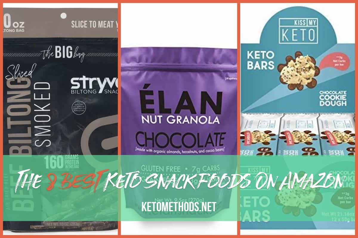 The Best Keto Snack Foods To Buy On Amazon