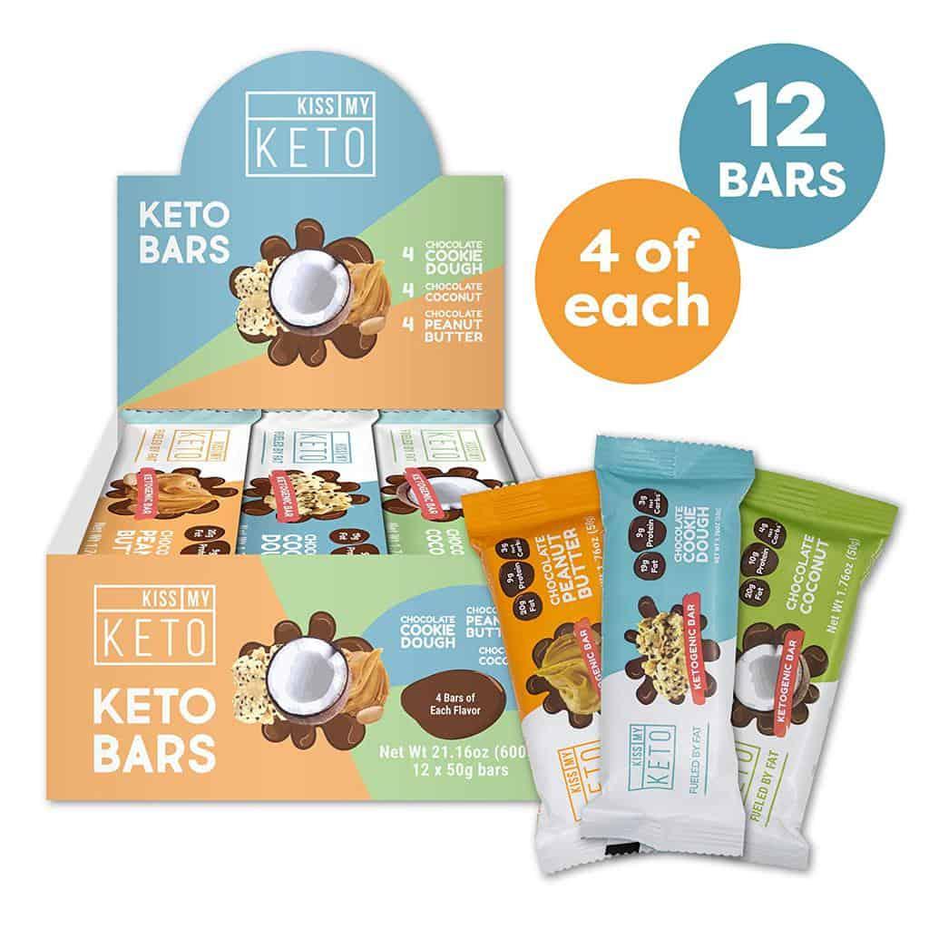 Kiss My Keto Snack Bar Variety